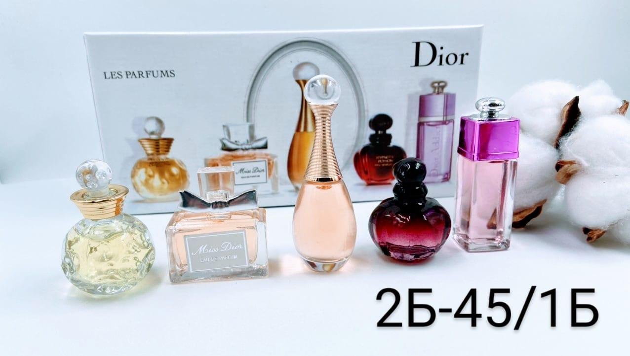 КОСМЕТИКА :: Парфюмерия :: ПАРФЮМ :: Подарочный набор духов Dior 5 ароматов в мини-флаконах по 5 мл. - Рынок Садовод официальный интернет-каталог