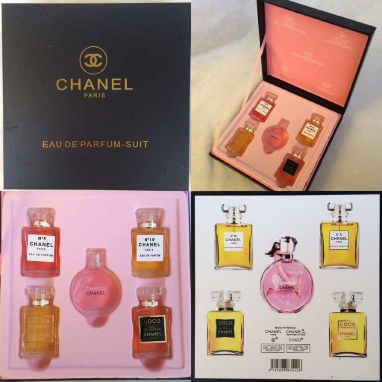 КОСМЕТИКА :: Парфюмерия :: ПАРФЮМ :: Подарочный набор Chance Chanel 5 in 1 - Рынок Садовод официальный интернет-каталог